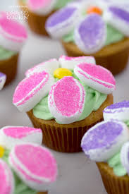 cupcake flowers marshmallow flower cupcakes flower cupcake recipe