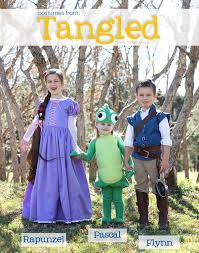 halloween costumes 2013 the whole tangled crew plus a video
