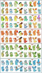 all fire type starter pokemon images pokemon images
