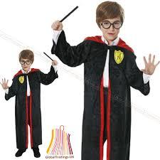 kids harry potter fancy dress boys film character robe book