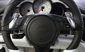 porsche steering wheel techart offers retrofit for porsche pdk shift paddles car and