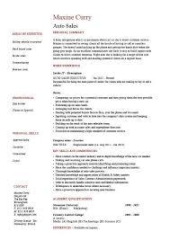 car sales resume 25219 plgsa org