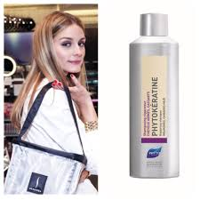 Olivia Palermo Home Decor Olivia Palermo Chooses Phyto Phytokératine Repairing Shampoo As