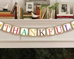 thanksgiving burlap banner thanksgiving banner etsy