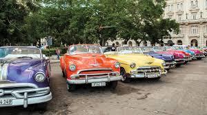 vintage cars 1960s cuba u0027s classic car détente cigar aficionado