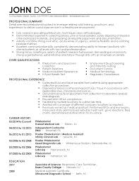 Resume Template For Medical Assistant Professional Phlebotomist Templates To Showcase Your Talent
