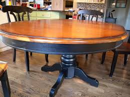 kitchen table refinishing ideas kitchen table redo for designs painted dining ideas paint colorful