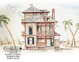 beach view house plan coastal house plans