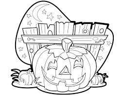 coloriage halloween les beaux dessins de fêtes à imprimer et