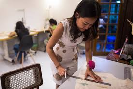myanmar designers put ethical twist on local fashion frontier