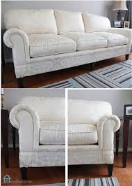 how to get rid of old sofa easy sofa makeover and living room mini makeover pretty handy