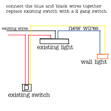 wiring diagram for two wall lights wiring diagram and schematic