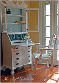 Secretary Desk Hutch by Mary Beth U0027s Place A Fresh New Look For A Secretary Desk