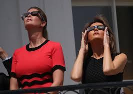 Puts On Glasses Meme - trump looks directly at eclipse sparks internet meme