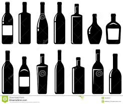 cartoon alcohol jug liquor bottle black and white clipart china cps