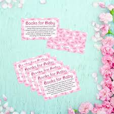 amazon com books for baby request cards baby shower