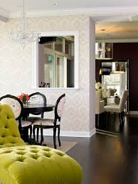 Dining Room Chandeliers With Shades by Tufted Chaise Dining Room Transitional With Chandelier Shade