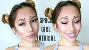 quick and easy space alien makeup tutorial youtube