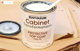 cabinet protective top coat rustoleum cabinet transformations protective top coat cabinet