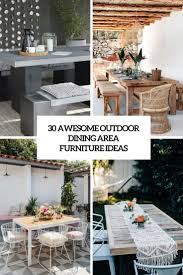 Outdoor Dining Rooms by 30 Awesome Outdoor Dining Area Furniture Ideas Digsdigs