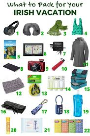 What to pack for your irish trip wander pinterest ireland