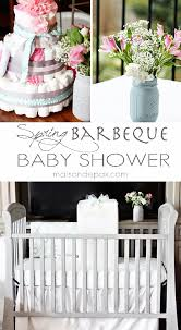 Decorating Chair For Baby Shower A Springtime Barbeque Baby Shower Maison De Pax