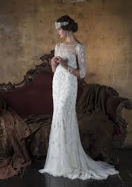 clara s art deco style wedding dress vickyrowe wedding dress ideas