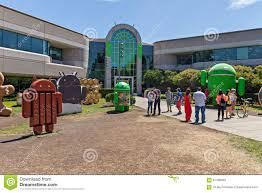 exterior view of google office editorial stock image image