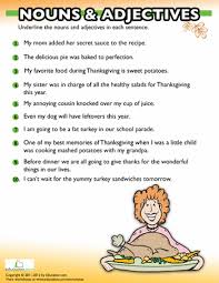 free thanksgiving worksheets for reading comprehension