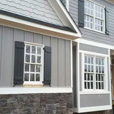 New Home Interior Colors Grey Siding Paint Color Is Gauntlet Gray Sherwin Williams And