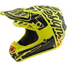 motocross gear gold coast new troy lee designs 2018 mx se4 poly factory black yellow tld
