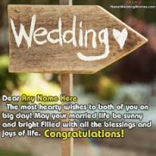happy married wishes best newly married wishes with name