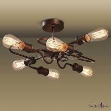 industrial semi flush mount lighting fashion style semi flush mount ceiling lights foyer pendant