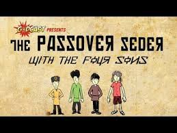 simple haggadah the passover story of the four sons haggadah for your