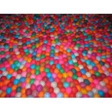 Nepal Felt Ball Rug Felt Balls Rug Wholesale Felt Balls Rug Felt Mat Pattern Nepal