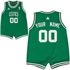 infant adidas boston celtics custom replica road jersey