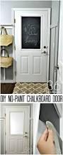 diy no paint chalkboard door the 36th avenue