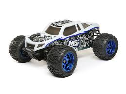 1 24 scale monster jam trucks losi lst 3xl e 4wd monster truck 1 8 rtr with avc technologie