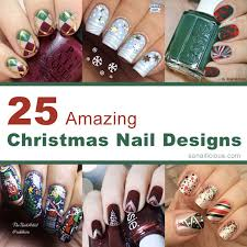 25 best christmas nail designs
