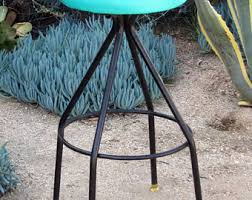 vintage counter stool etsy