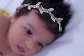 grecian headband birthday baby headband headband pearls headband baptism