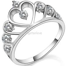cheap heart rings images Me want for promise ring find more rings information about jpg