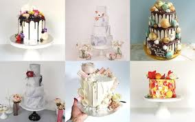 from dip dye to marble 2016 u0027s hottest wedding cake trends