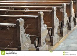 church benches stock image image 8526291