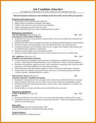 professional resume sle maintenance resume sle facilitys sle mining tem professional