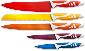 colored kitchen knives colored multi purpose kitchen knife set paring boning chef s