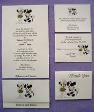 wedding invitations ebay disney wedding invitations ebay