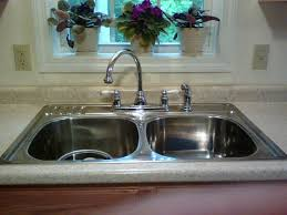 kitchen sink stunning glossy sink bowl and enchanting faucet for