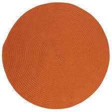 Orange Area Rug 8x10 Orange Home Decorators Collection Area Rugs Rugs The Home