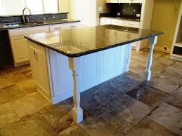 kitchen wonderful countertop legs kitchen island with post